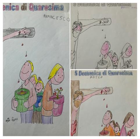 Quinta Domenica di Quaresima dei bambini
